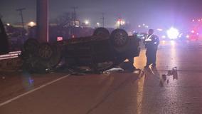 1 dead, 1 injured in crash on Dallas highway