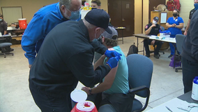 Event held in Garland to get frontline workers vaccinated