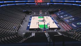 Dallas Mavs open a new season in mostly empty arena