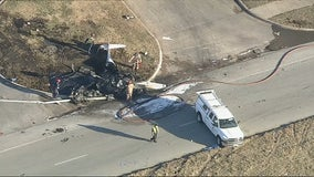 Two people killed after small plane crashes in Grand Prairie