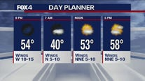 Jan. 25 evening forecast