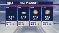 Jan. 25 evening forecast