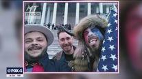 Burleson man photographed near 'Murder the Media' graffiti on Capitol door arrested