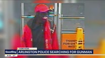 Search for gunman who killed Arlington clerk