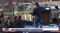 Garth Brooks sings 'Amazing Grace' on Inauguration Day