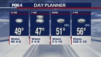 Jan. 22 overnight forecast