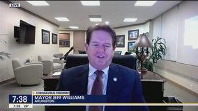 Mayor Jeff Williams discusses COVID-19 vaccine rollout in Arlington