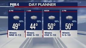 Jan. 19 evening forecast