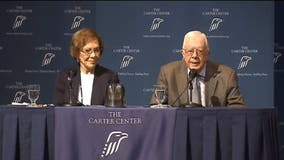 Former President Jimmy Carter, wife Rosalynn issue statement after violence in D.C.