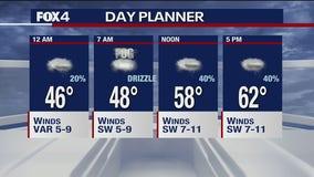 Jan. 20 overnight forecast