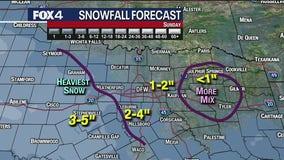 Jan. 8 morning forecast