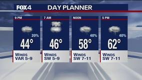 Jan. 20 evening forecast