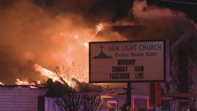 Overnight fire destroys Pleasant Grove church
