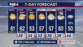 Jan. 13 morning forecast