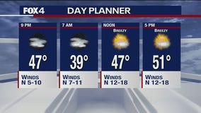 Jan. 26 overnight forecast