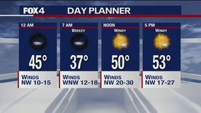Jan 14 overnight forecast