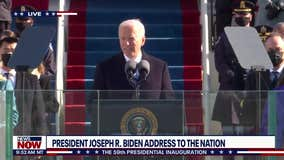 President Joe Biden delivers inauguration speech