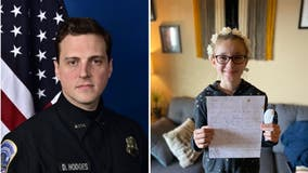 DC police ID officer crushed in door in response to little girl's heartfelt letter
