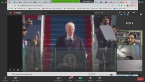 Dallas ISD teachers use President Biden's inauguration as a teaching moment for democracy