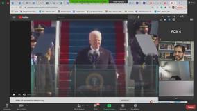 Dallas ISD teachers use President Biden's inauguration as a teaching moment for democracy