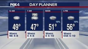 Jan. 22 overnight forecast