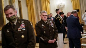 Joint Chiefs of Staff send memo to military decrying pro-Trump Capitol riot, affirming Biden's victory
