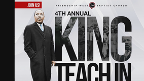 Dallas pastor to lead 'King Teach-in' event to pay tribute to Dr. Martin Luther King Jr.'s legacy