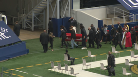 West Mesquite, Utah RB Ty Jordan remembered during funeral at AT&T Stadium