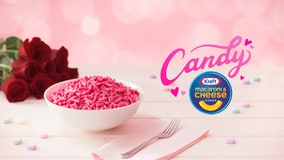Kraft selling pink 'candy' mac and cheese for Valentine's Day