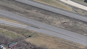 High winds cause power lines to sag over I-20 in Terrell