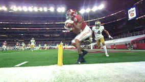 No. 1 Alabama beats Notre Dame 31-14 in Rose Bowl played in Arlington