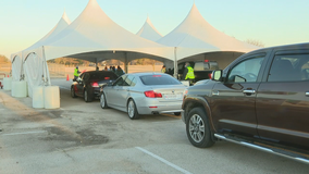 Denton County offering drive-thru COVID-19 vaccines
