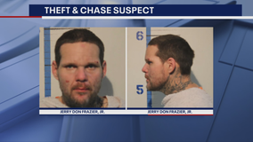 North Texas theft suspect faces multiple charges after tri-county chase