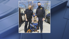 Boy who had his bike destroyed gets a new one thanks to Irving detective