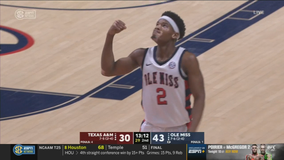 Ole Miss capitalizes on Texas A&M dry spells in 61-50 win