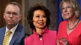 DeVos, Chao, Mulvaney resign after pro-Trump riot at US Capitol