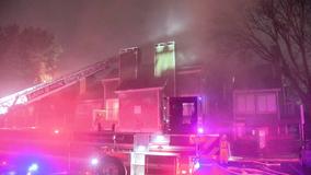 Oven used to heat Dallas condo sparks overnight fire