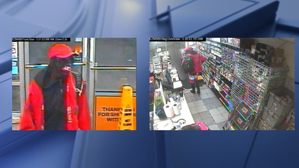 Police searching for robber who fatally shot store clerk in Arlington