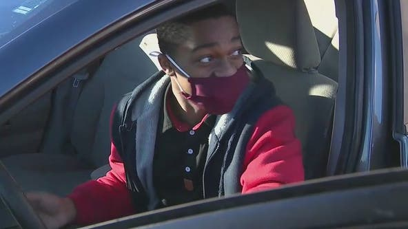 Woman gifts car to teen who had to walk 7 miles to work each day