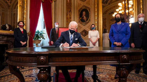 President Biden takes actions to combat the impacts of the COVID-19 pandemic