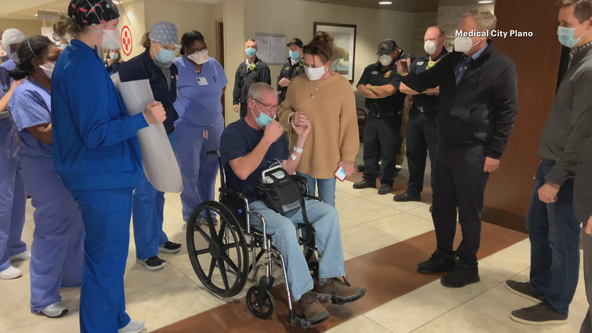 Plano fire chief released from hospital after battling COVID-19
