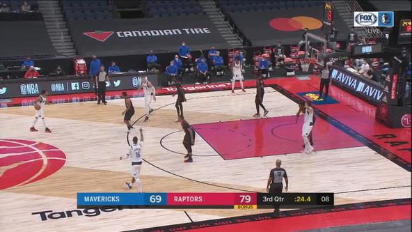Raptors beat Mavericks 116-93, extend win streak to 3 games
