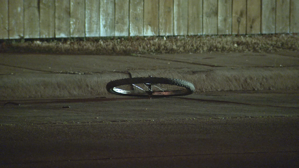 Man riding bike dies after being struck by vehicle in Dallas