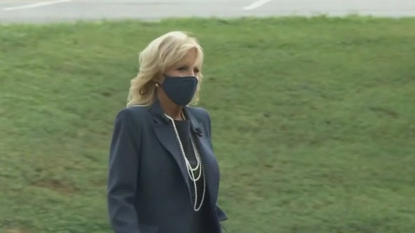 First Lady Jill Biden will visit COVID-19 vaccination sites in North Texas