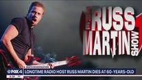 Radio host Russ Martin found dead in his Frisco home
