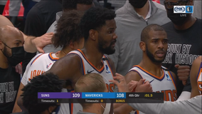 Booker hits winning 3 in return as Suns edge Mavs 109-108
