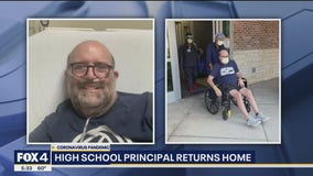 Flower Mound principal back home after 6 weeks hospitalized with COVID