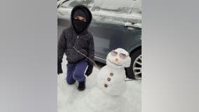 North Texans take time to enjoy the snow