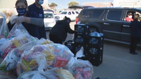 Dallas school raises $10,000 to feed students, their families after winter storm