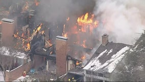 Residents displaced after fire destroys Duncanville townhomes